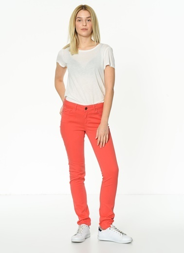 Mia Pantolon Kırmızı